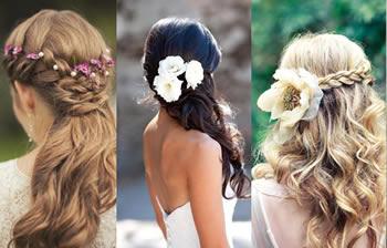 Peinados para novia faciles de hacer